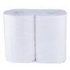 Полотенца бумажные 2 рулона 2-х слойные белые 350 отрывов