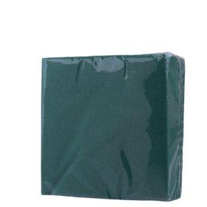 """Салфетки бумажные """"Зелёные"""" 33*33см"""