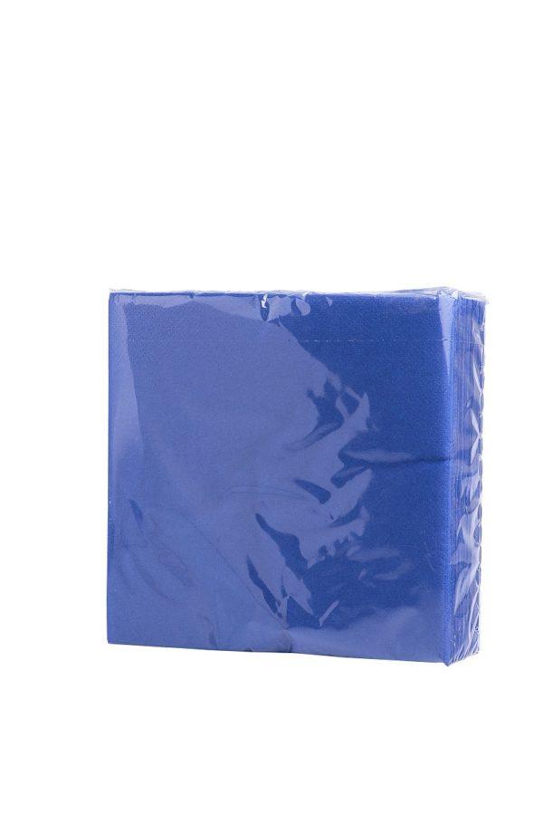 """Салфетки бумажные """"Синие"""" 33*33 см"""
