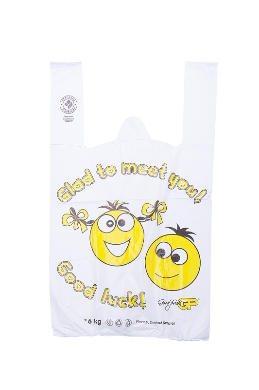 пакет майка с рисунком