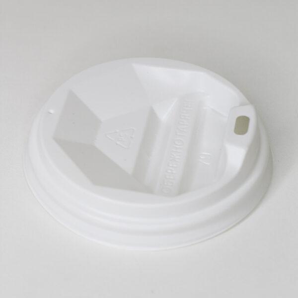 Крышка 79 мм с поилкой белая (одност 330/340мл) 50шт/уп