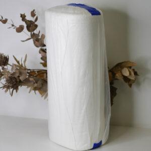 Полотенце вафельное, белое, 45 см