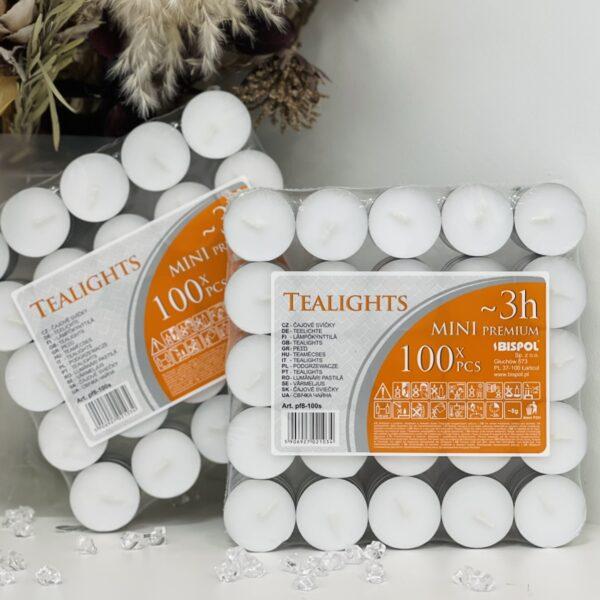 Свечи чайные (таблетка) 100шт