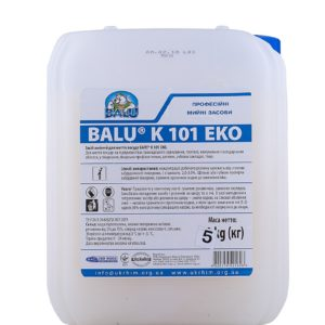 Средство для мытья посуды, BALU К101 Эко, кан 5 кг