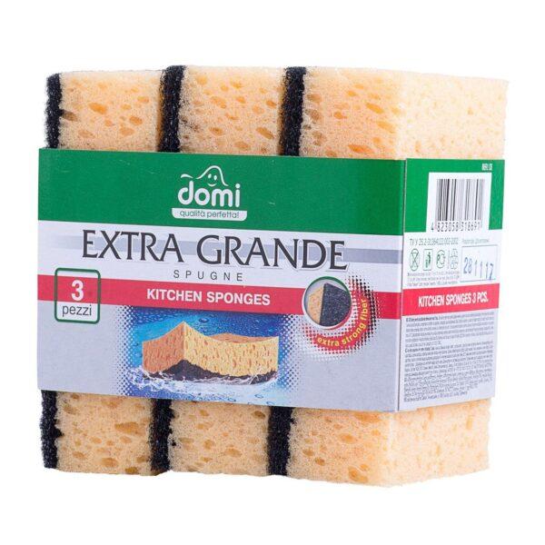 Губки кухонные Domi сверхбольшие