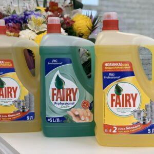 Средство для мытья посуды FAIRY Сочный Лимон, 5л