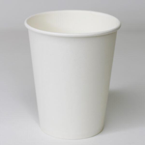 Бумажный стакан без рисунка 250мл, 50шт/уп (d 76)