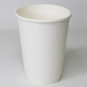 Бумажный стакан белый без рисунка 400 мл (35 шт. уп.) Ø90мм