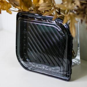 Коробка пластиковая IT-132 чёрная ПЕТ, 50шт