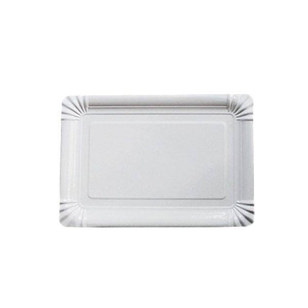 Тарелка бумажная прямоугольная