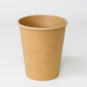 Бумажный стакан, 185 мл, 50шт/уп, крафт (d71)