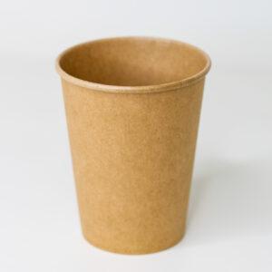 Бумажный стакан, 250 мл, 50шт/уп, бумажный крафт ( d76)