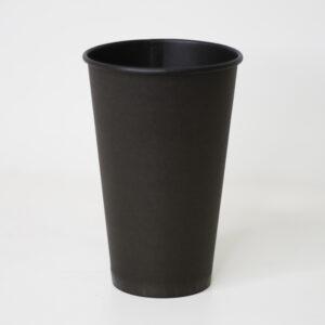 Бумажный стакан Black Pe 500мл