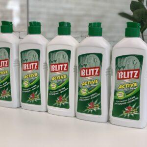 """Гель для мытья посуды """"Blitz Active"""", ПЭТ, 0,5кг"""