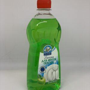"""Бальзам для мытья посуды """"Зеленое яблоко"""" BALU , 500 мл"""
