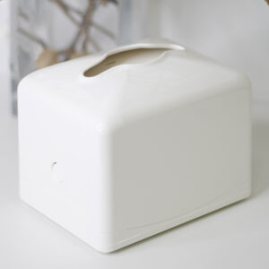 Диспенсер Rulopak для бумажных салфеток, центральная подача, белый, пластик (R1332)