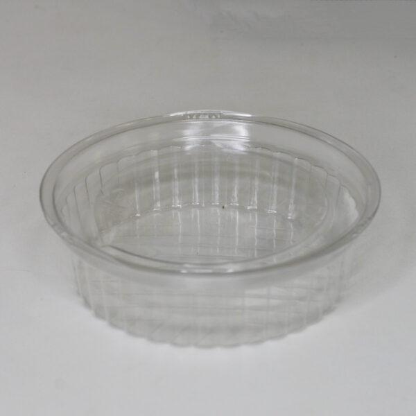 Крышка круглая, УК-110КГ, ПЭТ, прозрачная, 150мл