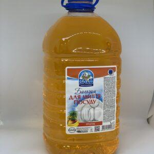 """Бальзам для мытья посуды """"Тропик"""" BALU пет. 5л"""