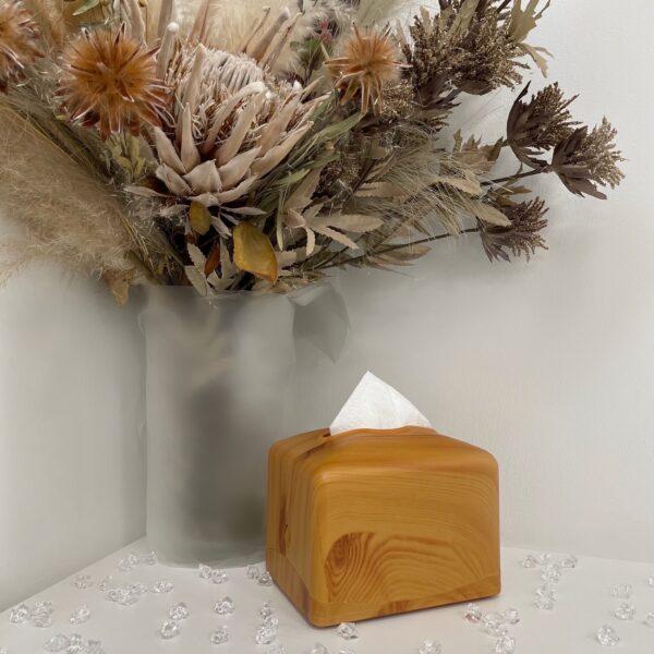 Диспенсер Rulopak для бумажных салфеток, центральная подача, дерево, пластик (R1332)