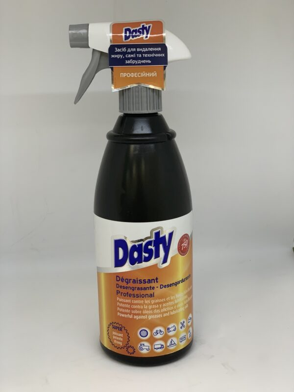 Профессиональное средство для удаление жира ,сажи и теннисных загрязнений Dasty