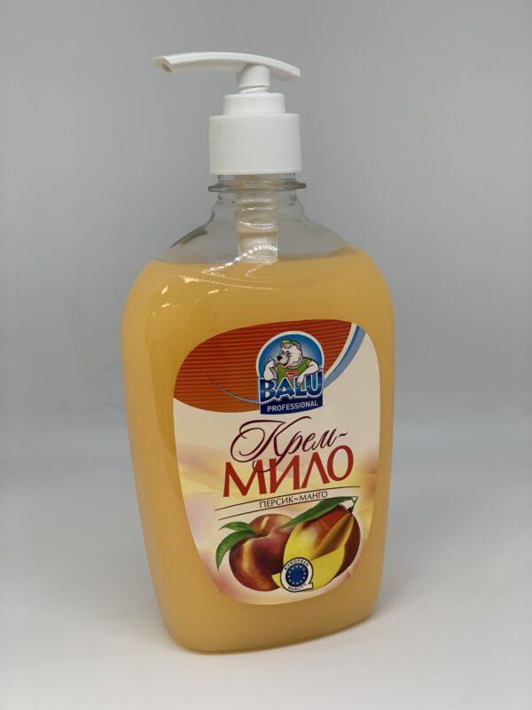 """Крем-мыло """"Персик-Манго"""""""