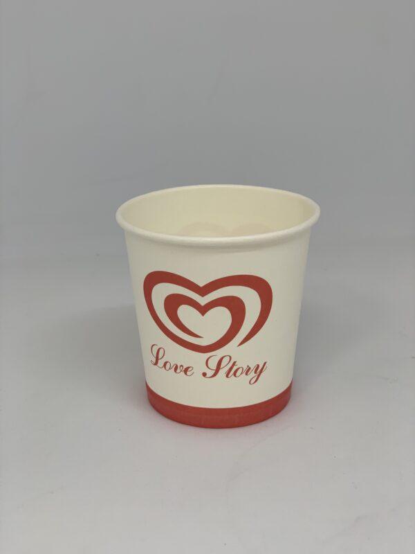 Бумажный стакан Love Story