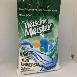 Порошок для стирки WASCHE MEISTER UNIVERSAL, 10,5кг п / э
