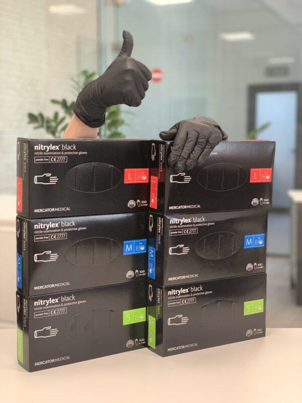 Одноразовые медицинские перчатки