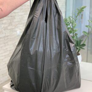Пакет Саид 900;2*300;500 черный, 20шт/уп, 150 мкм (70 кг)