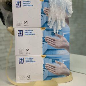 перчатки виниловые опт