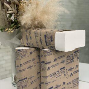 Полотенце бумажное Rulopack Standart Z-слож, 22*22,5см, 2слоя, 200листов, Турция