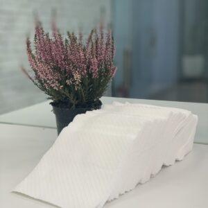 бумажные салфетки белые