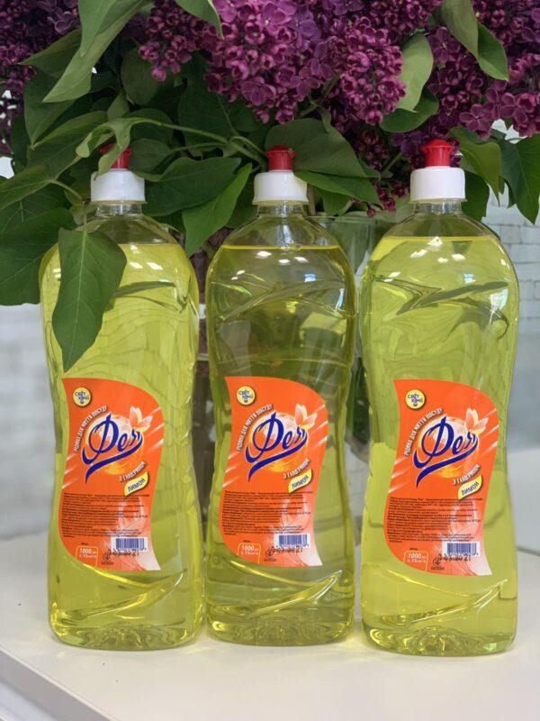 """Жидкость для мытья посуды """"ФЕЯ"""" Лимон с глицерином, пэт бут. 1л"""