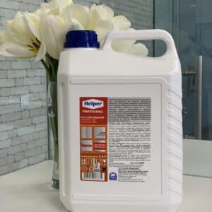 Средство для чистки поверхностей после строительных работ Helper Professional, 5л
