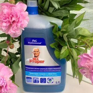 MR PROPER Универсальное моющее средство для твёрдых поверхностей Unsversal 5 л