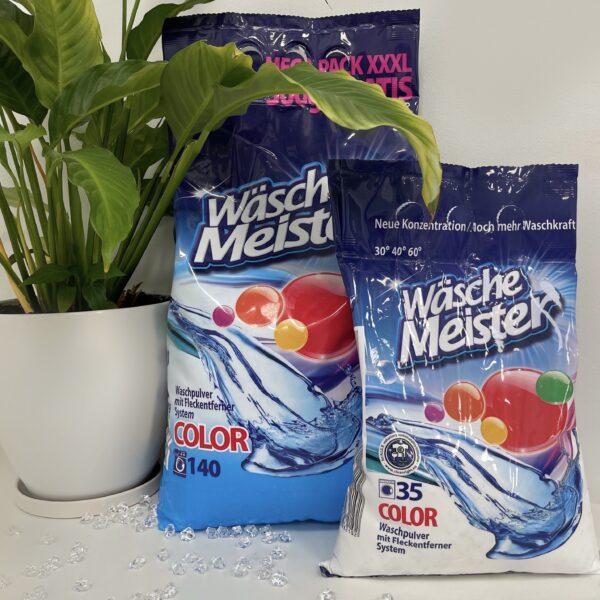 Порошок для стирки WASCHE MEISTER COLOR