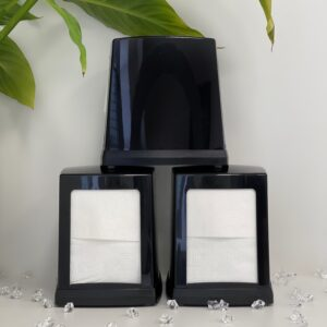 Диспенсер Rulopak для бумажных салфеток, чёрный, пластик (NP.80.B)