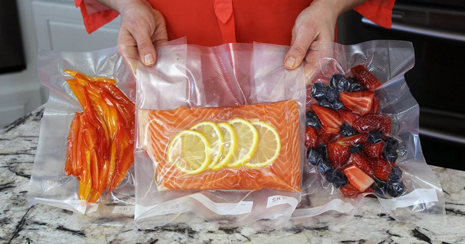 вакуумная упаковка для еды