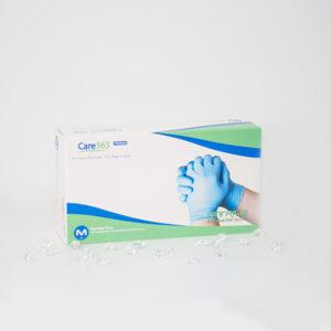 Перчатки нитриловые нестерильные неопудренные Care 365