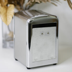 Металлические диспенсеры для салфеток Silver