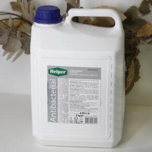 Жидкое мыло с антибактериальним эффектом Премиум Helper, 5л