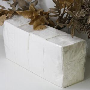 Салфетка 33*33 белая, 1/8 сложения, 2слой, 260шт/уп, SL2-26